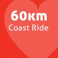 60k Coast ride squre2